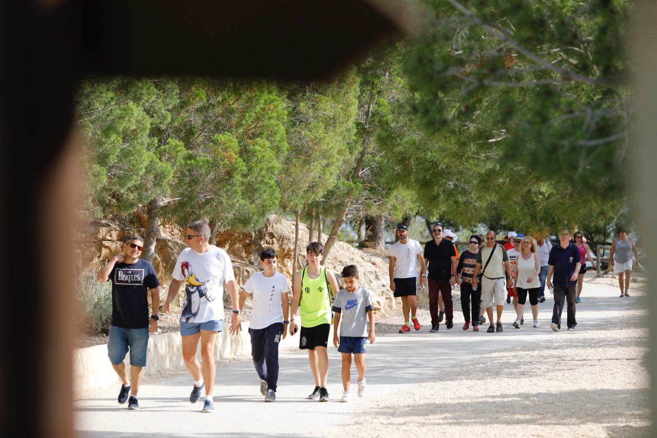 L'Alfàs del Pi celebra el Día Mundial del Medio Ambiente con la celebración de la Ruta Azul al faro de l'Albir