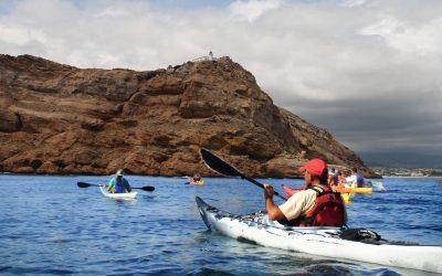 Presentación de la 6ª edición de las salidas gratuitas en Kayak al Faro de l'Albir