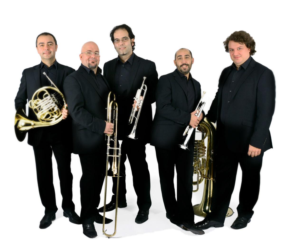 Spanish Brass Quintet ofrecerá un concierto este sábado en la Villa Romana de l'Albir