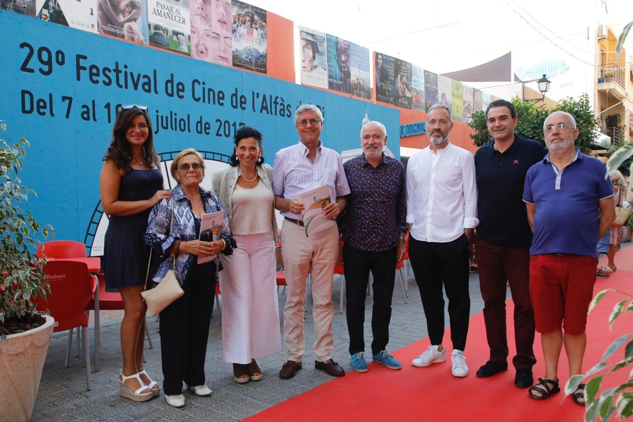 El Consulado de Uruguay en Valencia se interesa por el 29 Festival de Cine de l'Alfàs