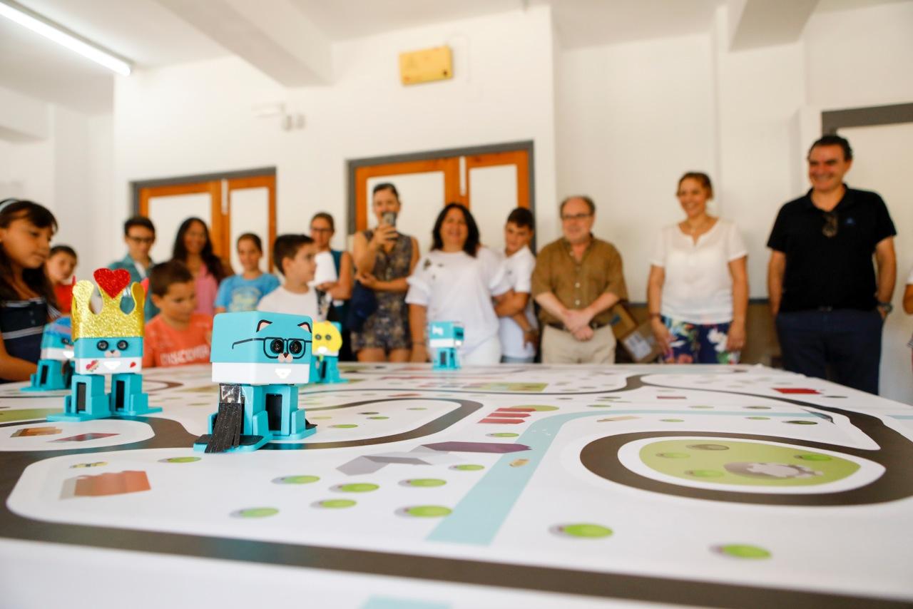 Finaliza el curso de robótica infantil cuyo éxito de participación ha propiciado una nueva edición en el mes de octubre