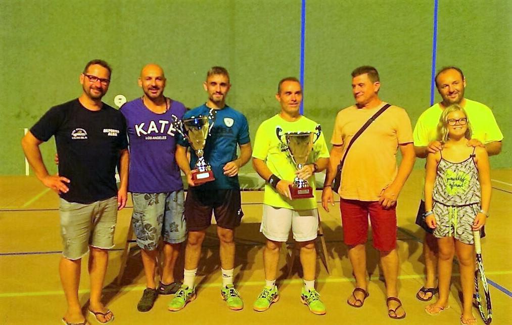 El Club Frontenis Elche ganó  las 12H de  l'Alfàs del Pi