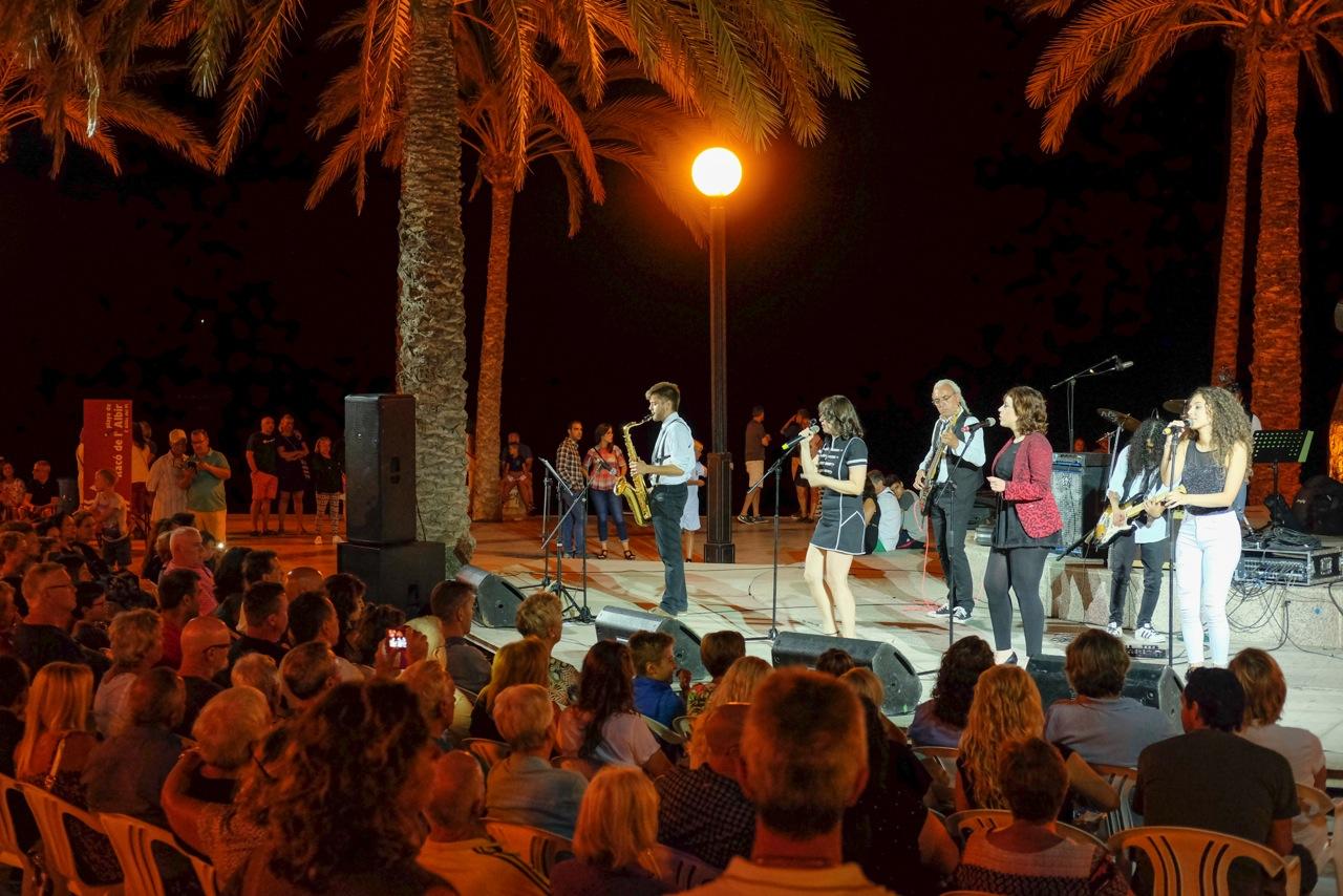 Aretha y los Franklin abarrotaron el ancla de l'Albir en un estupendo concierto