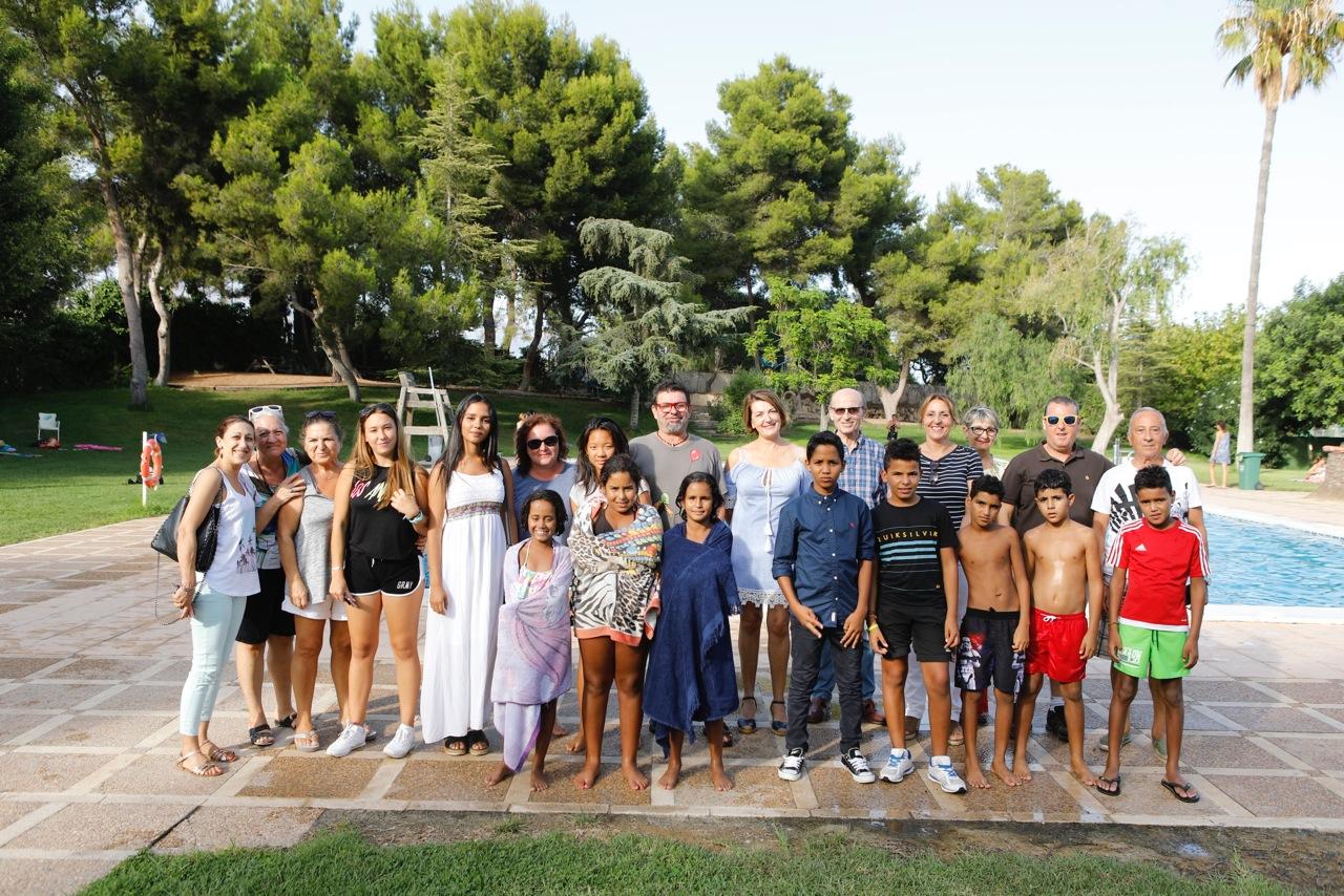 L'Alfàs despide a los niños y niñas saharauis del programa 'Vacaciones en Paz'