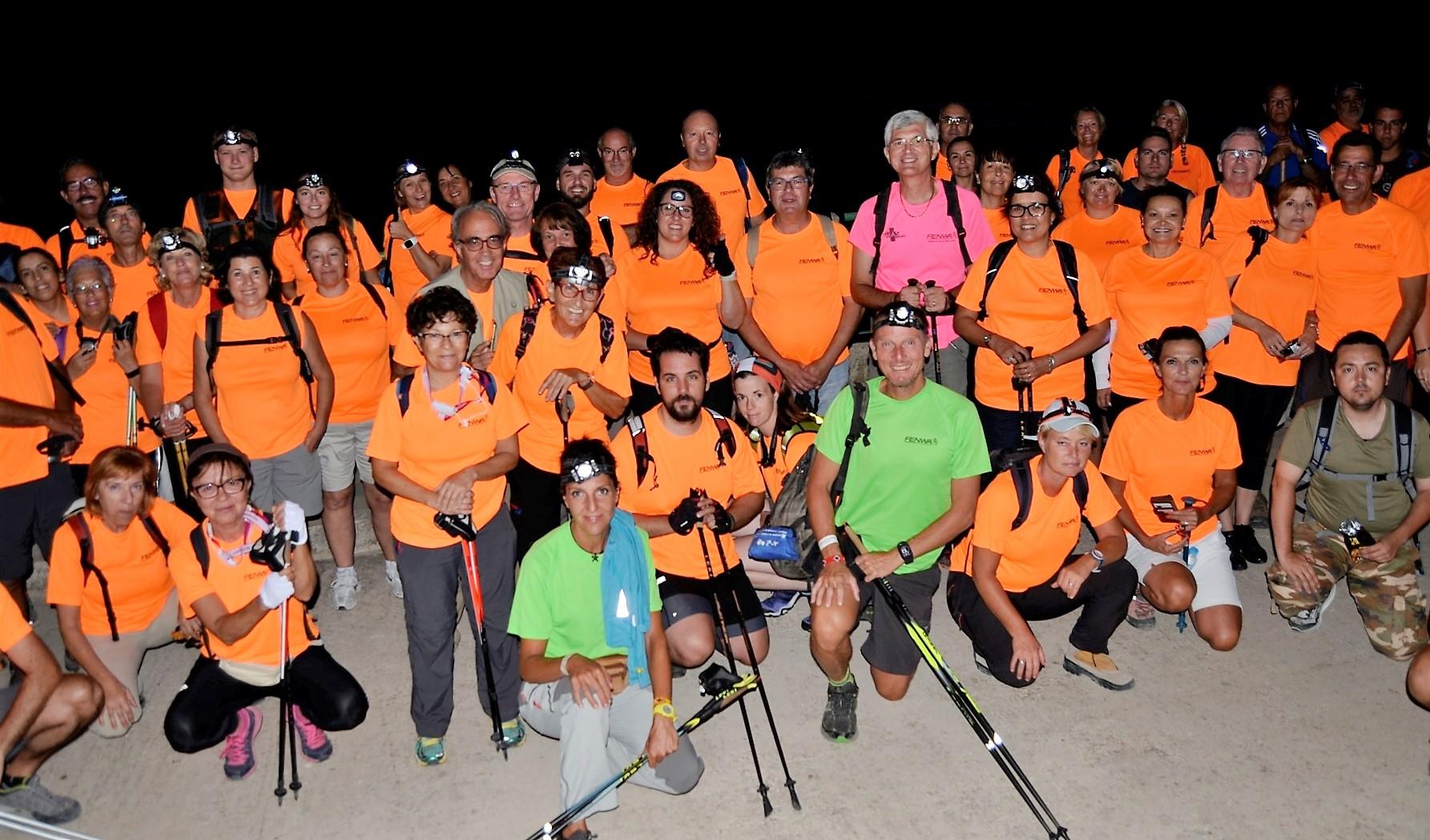 Este sábado día 5 se realizará la 10ª Caminata Nocturna  que organizan la FENWA y las concejalías de deportes de l'Alfàs del Pi y Altea