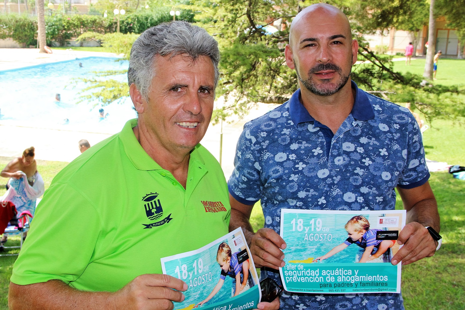 La concejalía de deportes organiza un curso de seguridad acuática dirigido a padres , para evitar incidentes en playas y piscinas.