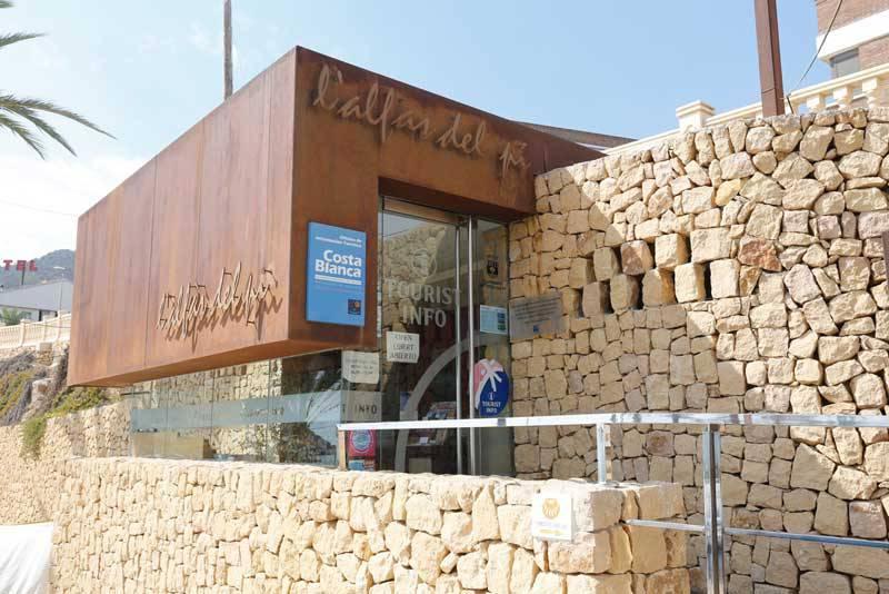 La 'Tourist Info' de l'Alfàs del Pi, la segunda mejor oficina de la Comunitat Valenciana