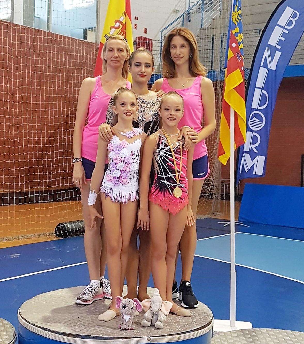Tres gimnastas del C.G.R. Primavera se han clasificado para el campeonato autonómico.