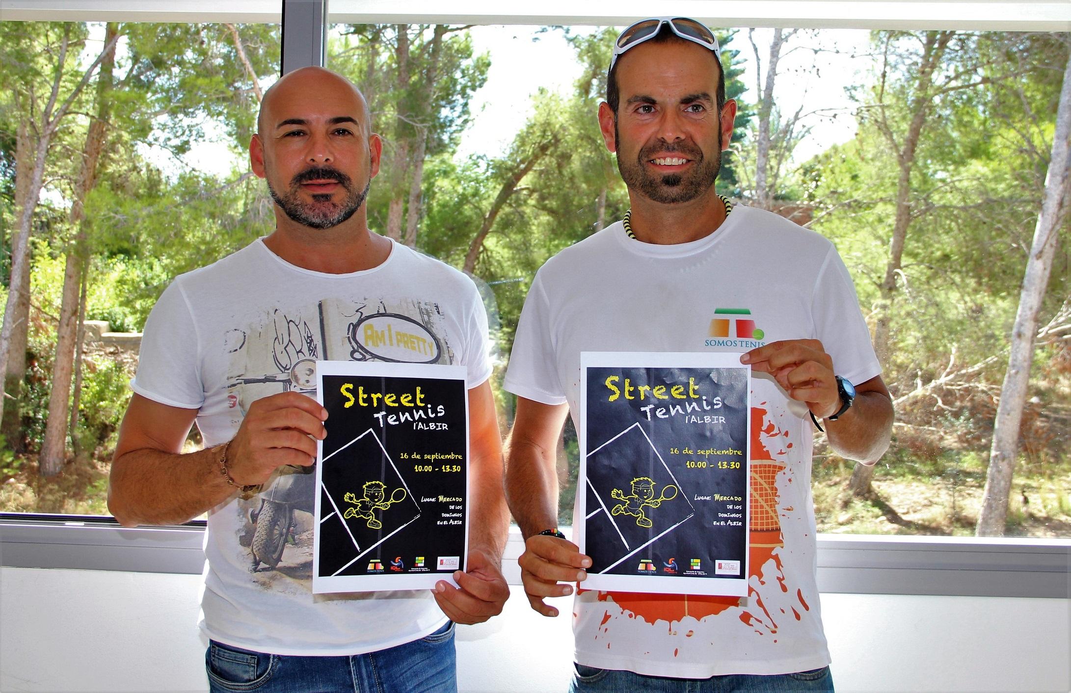 El Albir acoge una jornada de Street Tennis este sábado.