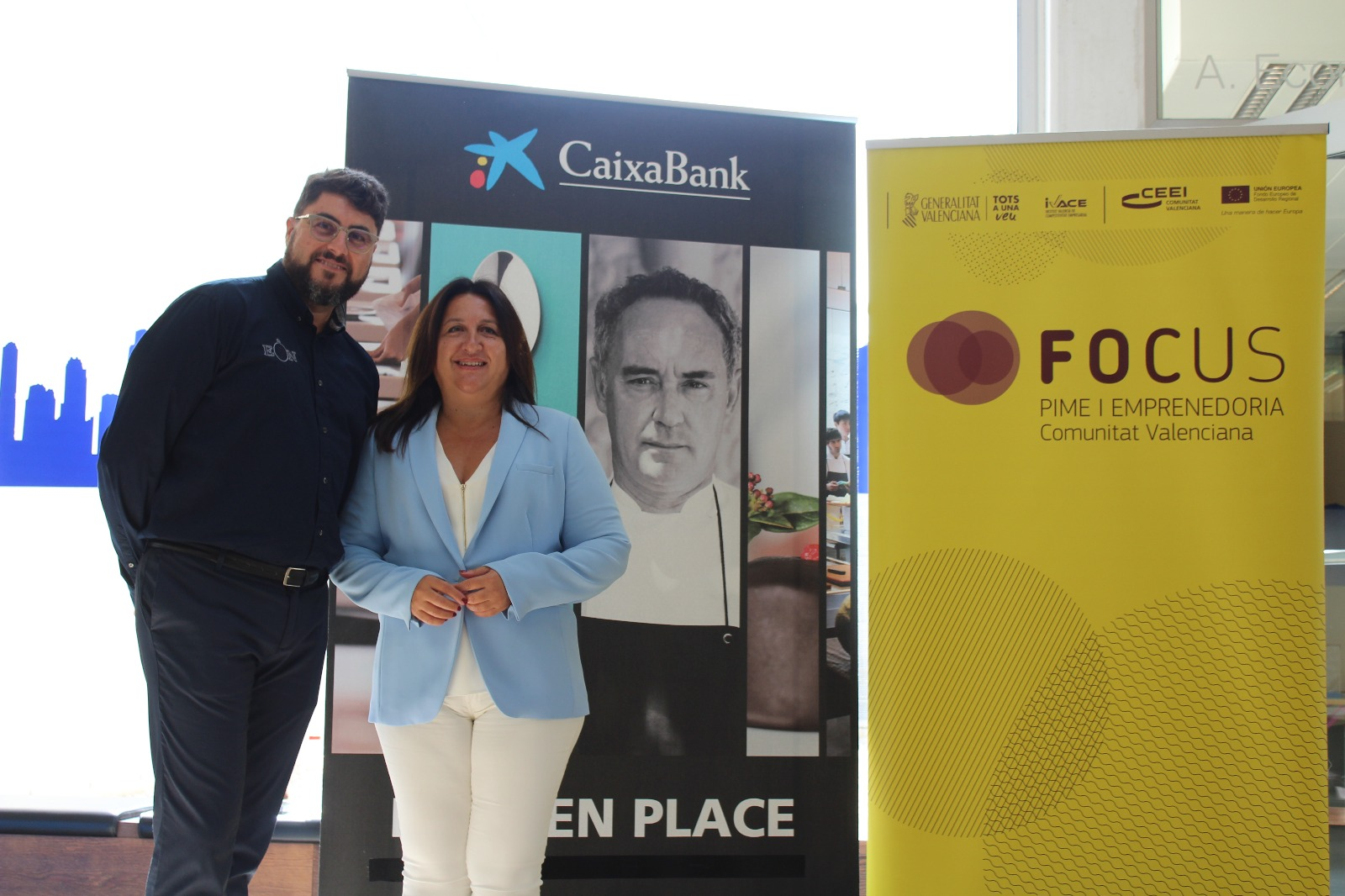 El emprendedor y empresario alfasino David Corredor participó como ponente en Focus Marina Baixa