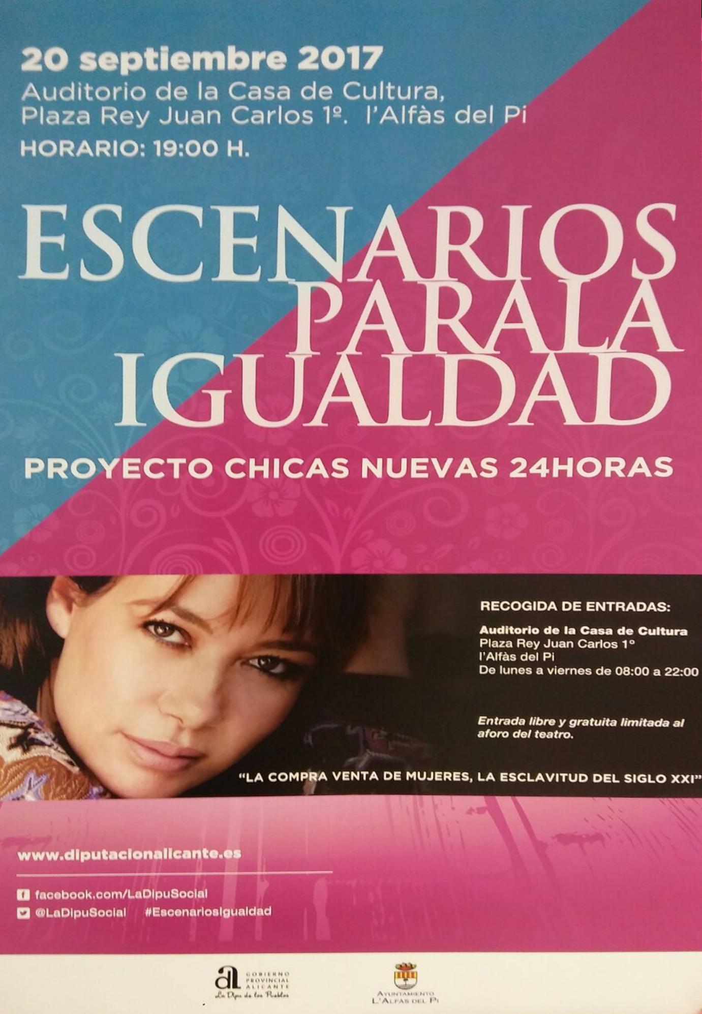 La trata de personas, protagonista en 'Escenarios para la igualdad' en l'Alfàs del Pi