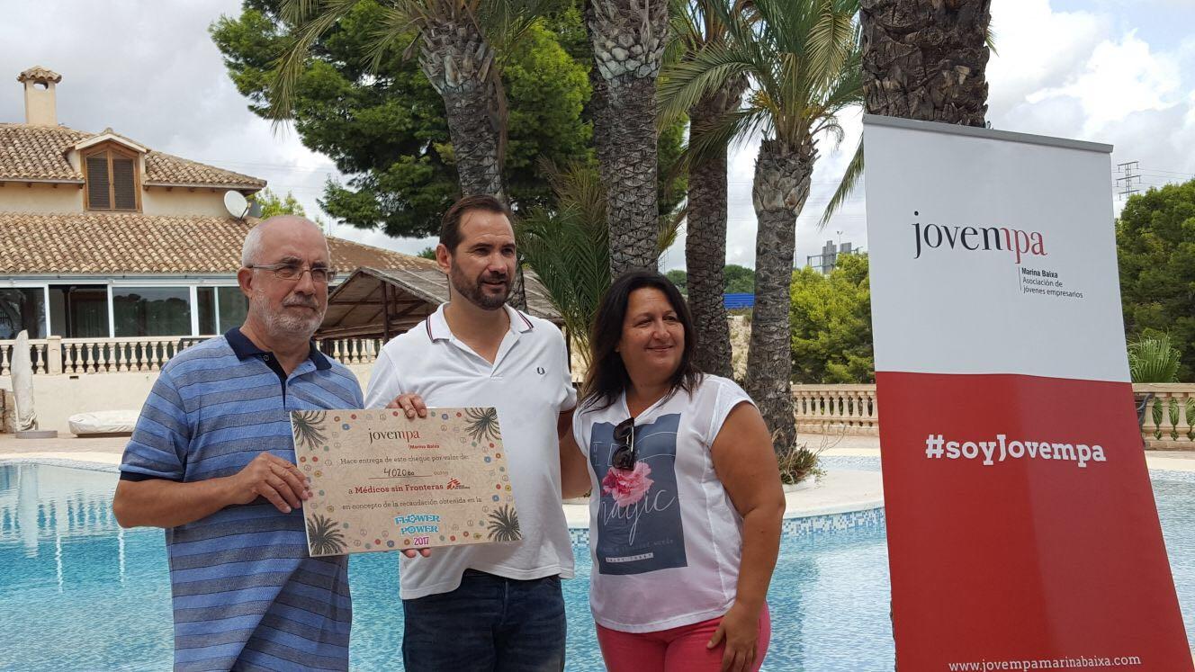 Jovempa entrega 16.080 euros a cuatro asociaciones de la Marina Baixa
