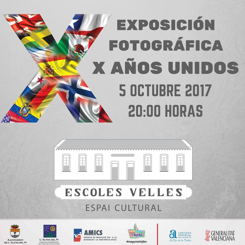 Mañana se inaugura la exposición conmemorativa del décimo aniversario del Día Internacional de l'Alfàs