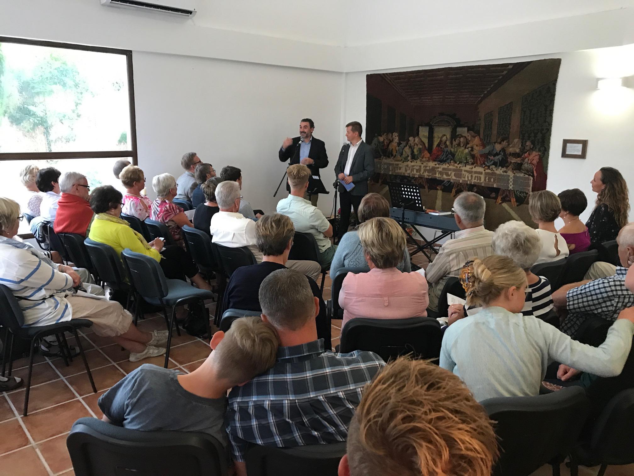 Abre sus puertas en l'Alfàs un centro noruego de estudios religiosos