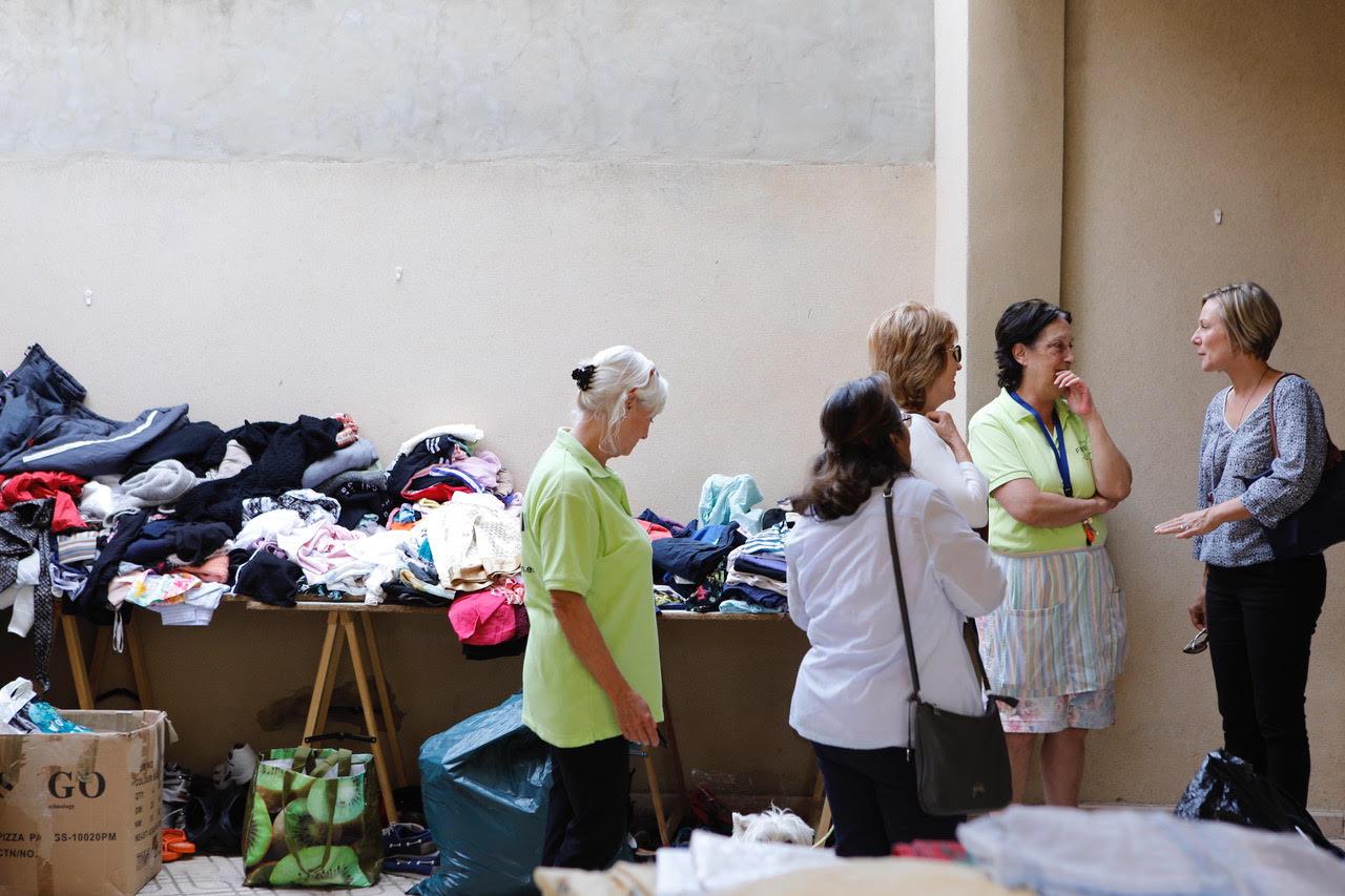 El voluntariado noruego celebró este sábado su cuarto rastro solidario