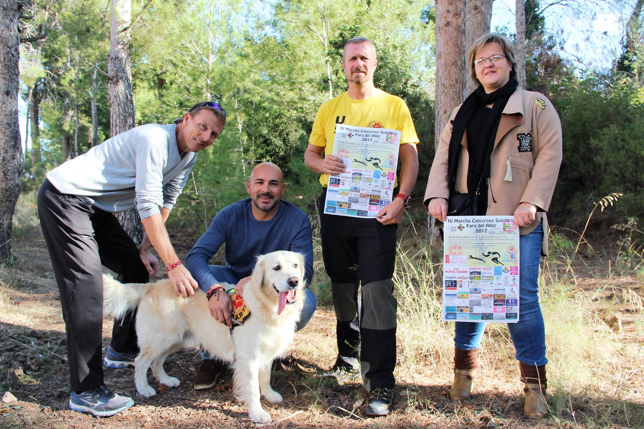 El canicross solidario de l'Alfàs del Pi llega a su  cuarta edición