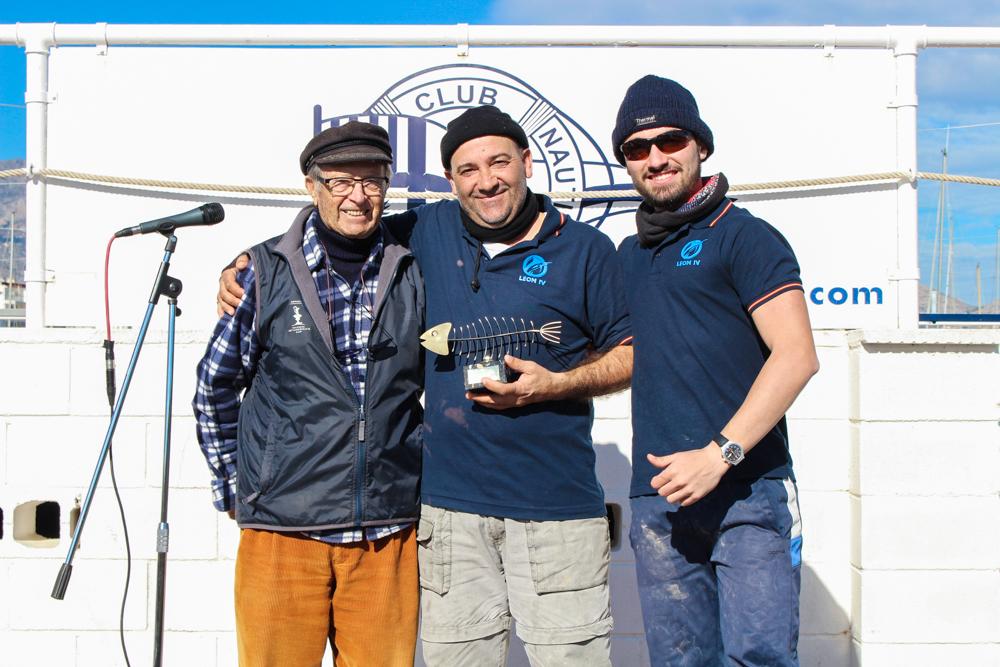 El León IV de l'Alfàs del Pi  gana el Concurso de Pesca al Chambel 2018
