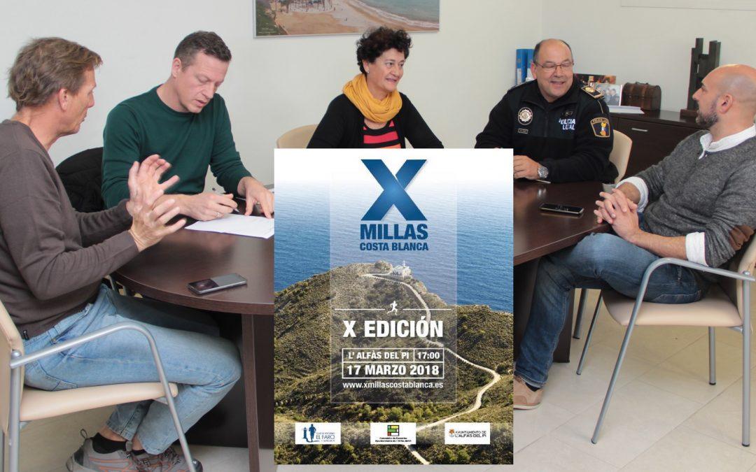 Concejalía de Deportes CA el Faro y Policia Local ultiman el operativo de seguridad para las X Millas de la Costa Blanca.