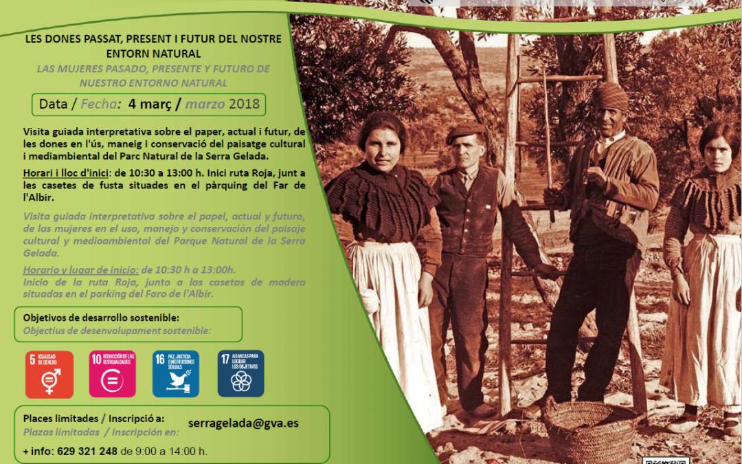 """L'Alfàs se suma este domingo a la campaña """"La Mujer en la Conservación de la Naturaleza"""""""
