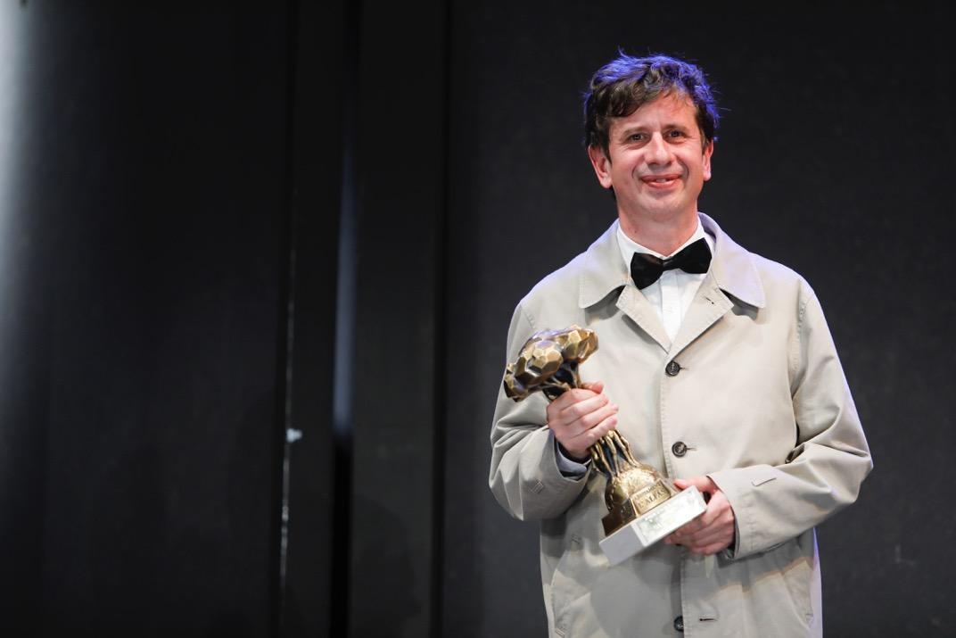 El actor Gabino Diego recibe el Pi d'Honor 2018 de la Mostra de Teatre de l'Alfàs