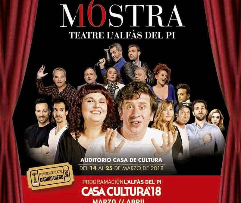 Agotadas las entradas para la clausura de la Mostra de Teatre de l'Alfàs del Pi