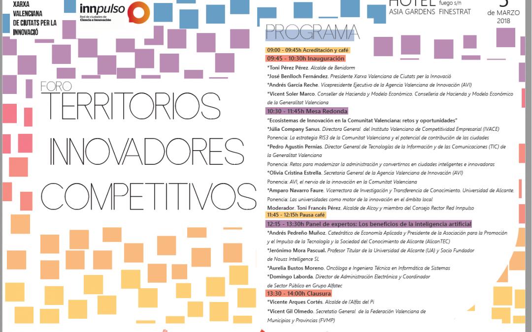 Expertos debaten sobre innovación y competitividad en un Foro organizado por l'Alfàs