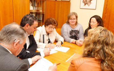 El Ayuntamiento de l'Alfàs renueva el convenio de colaboración con la Asociación Voluntariado Social