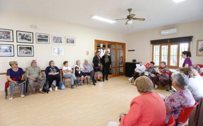 La Semana de la Tercera Edad incluye talleres saludables para personas mayores