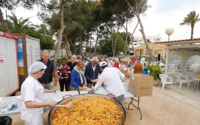 Unos 250 mayores participan en la jornada de convivencia de la Semana de la Tercera Edad