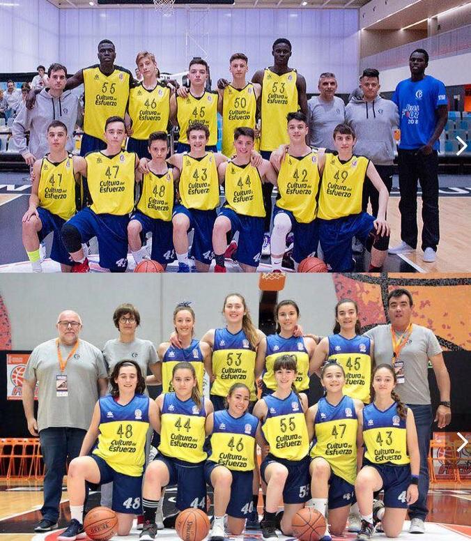 Los equipos cadetes de basket quedan fuera del campeonato de España al no ganar en la  final four disputada el pasado fin de semana.