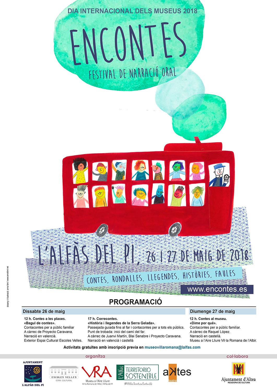 L'Alfàs acoge este fin de semana el festival de narración oral Encontes
