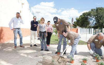 A punto de finalizar el curso de jardinería para personas con discapacidad