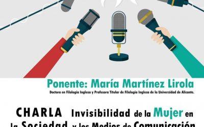 Charla sobre la invisibilidad de la mujer en la sociedad y en los medios de comunicación