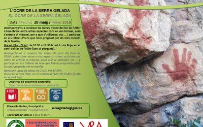 L'Alfàs organiza una visita guiada para niños a las minas de ocre de la Serra Gelada