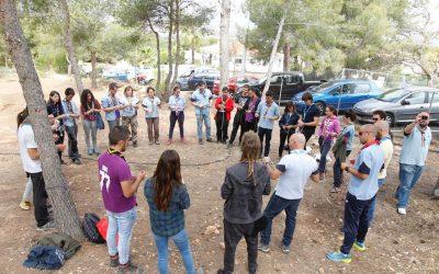 Scouts Valencians elige l'Alfàs para formar a sus monitores en campismo y pionerismo