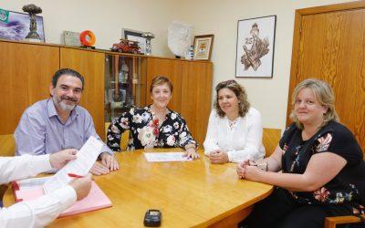 El Ayuntamiento de l'Alfàs del Pi y la asociación Anémona renuevan el convenio de colaboración