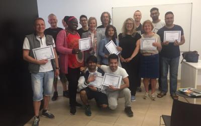 Entrega de diplomas al alumnado del Curso de Español
