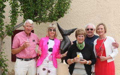 El Club de Leones dona una escultura al Museo Klein Schreuder de l'Alfàs