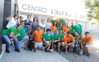 L'Alfàs reanudará en 2019 el programa 'Eduka-dogs' de terapia asistida con perros
