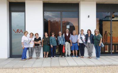 El alumnado del Programa de Formación Básica para Adultos visita la Villa Romana de l'Albir