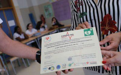 Alumnos del IES L'Arabí se forman en primeros auxilios