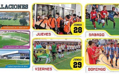 El próximo fin de  semana se celebra  la 10ª edición de la Marina Baixa  Cup de Fútbol
