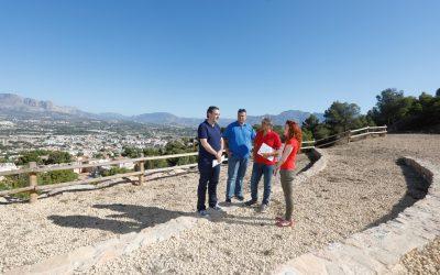 El área recreativa de la cantera de Serra Gelada contará con un espacio para la práctica de meditación