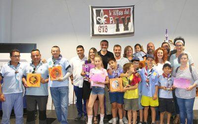 El IV Grupo Scout de l'Alfàs reconoce los valores de personas y entidades del municipio