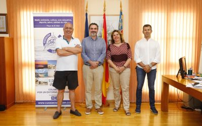 El Ayuntamiento y Cuidemos El Albir renuevan su convenio de colaboración