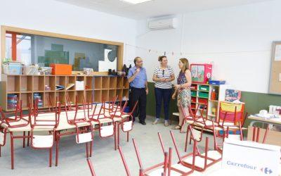 El Ayuntamiento comienza a habilitar las aulas de dos años para el próximo curso escolar