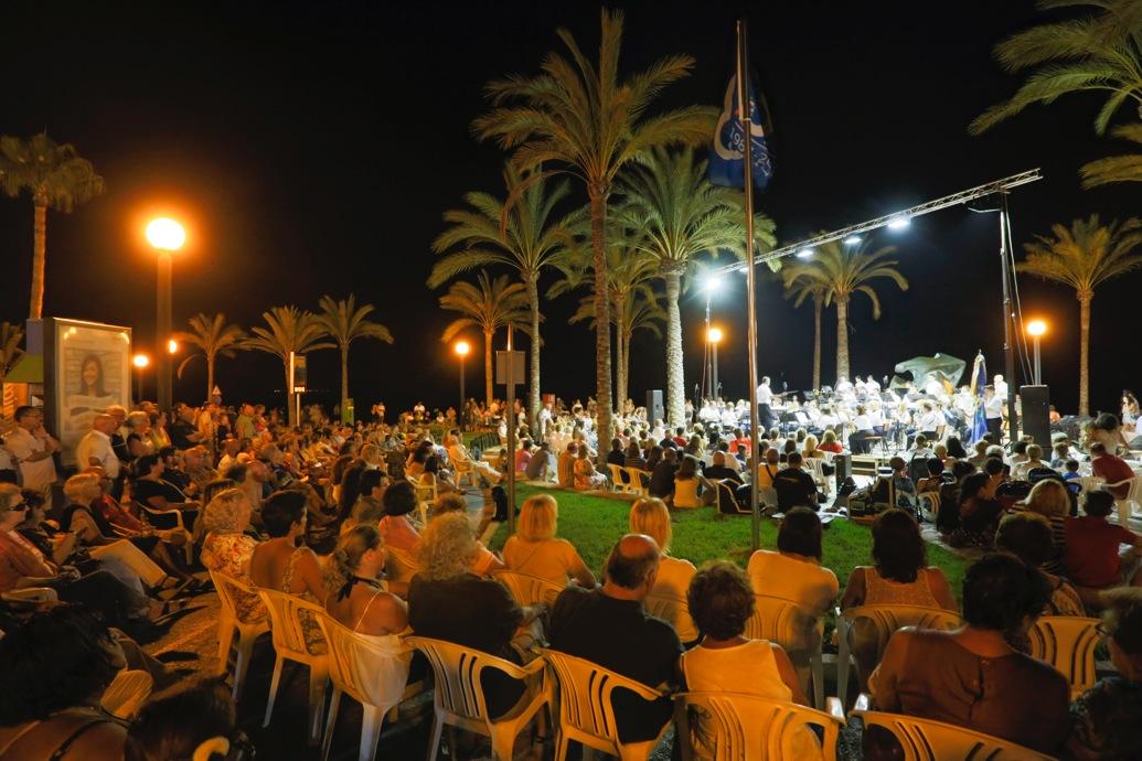 Música de película este sábado en la playa de l'Albir con la Sociedad Musical La Lira