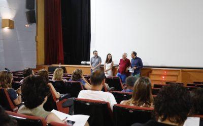 Profesores de toda la provincia aprenden en l'Alfàs a hacer cine