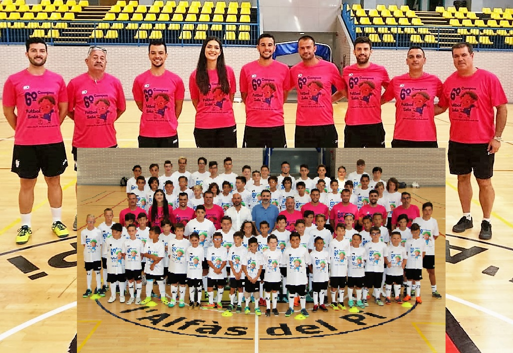 Este domingo se clausuró el VI  Campus  Fútbol Sala  de l'Alfàs del Pi .