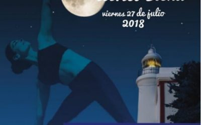 Yoga a la luz de la luna llena en el Faro de l'Albir
